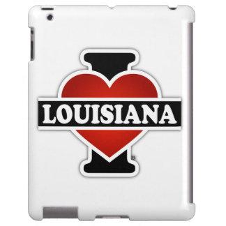 I corazón Luisiana Funda Para iPad