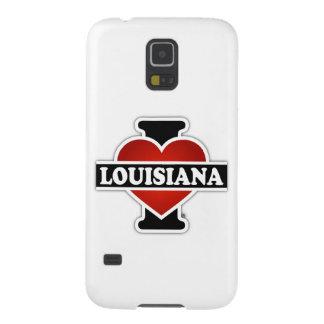 I corazón Luisiana Funda Para Galaxy S5