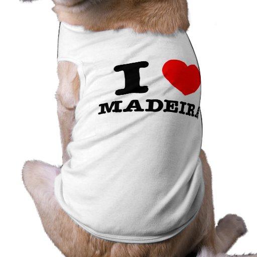 I corazón Madeira Ropa Perro