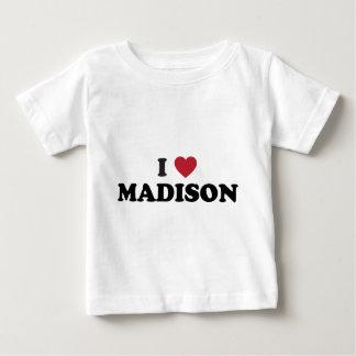 I corazón Madison Wisconsin Playeras
