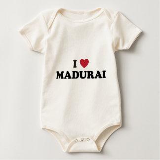 I corazón Madurai la India Mameluco De Bebé