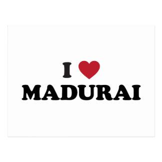 I corazón Madurai la India Postales