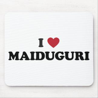 I corazón Maiduguri Nigeria Tapete De Raton