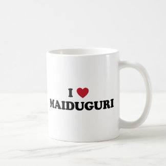I corazón Maiduguri Nigeria Taza De Café
