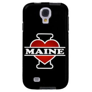 I corazón Maine Funda Para Galaxy S4