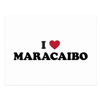 I corazón Maracaibo Venezuela Postal