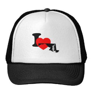 I corazón Maryland Gorro