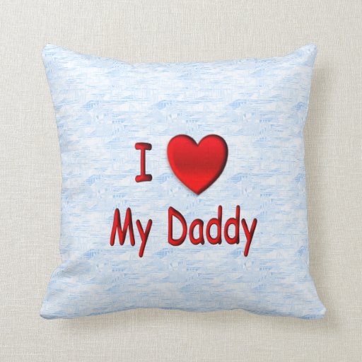 I corazón mi almohada de Mojo del papá
