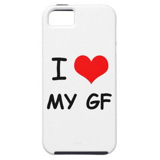 I corazón mi amiga iPhone 5 funda