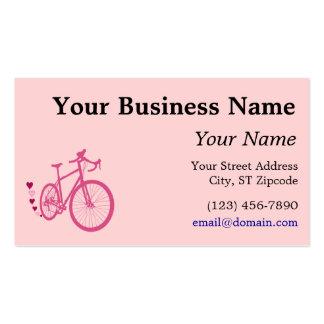 I [corazón] mi bicicleta tarjetas de visita