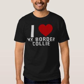 I corazón mi border collie T-Shirt.png Remeras