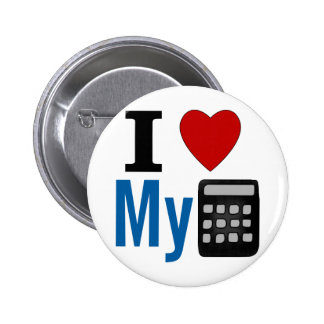 I corazón mi calculadora pins
