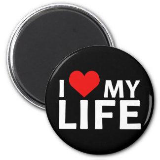 I corazón mi colección de la vida imanes