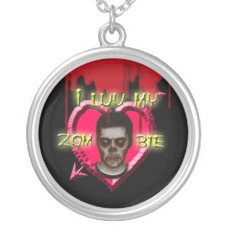I corazón mi collar del zombi
