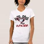 I corazón mi corredor camisetas