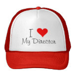 I corazón mi director Hat Gorras De Camionero