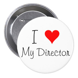 I corazón mi director Pin Pin Redondo 7 Cm