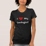 ¡I corazón mi geólogo! (Camisa oscura)