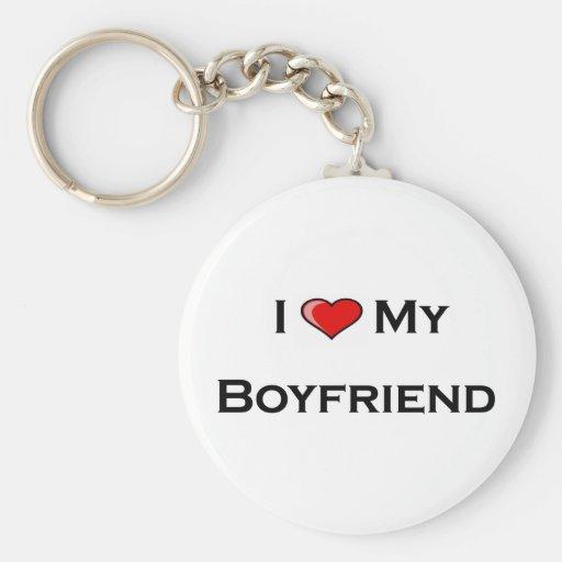 I (corazón) mi llavero del novio
