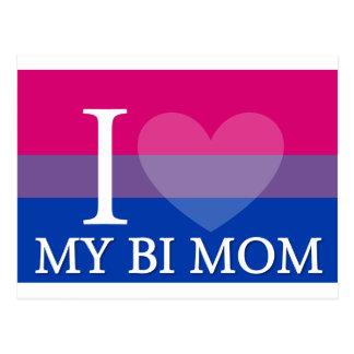 I corazón mi mamá del BI Postales