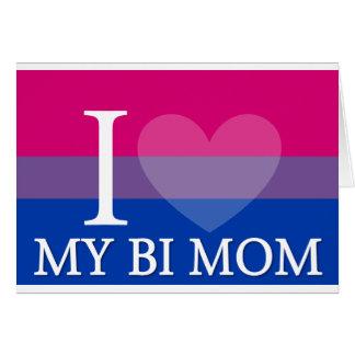 I corazón mi mamá del BI Tarjeta De Felicitación
