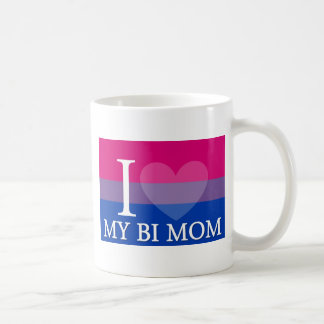 I corazón mi mamá del BI Taza