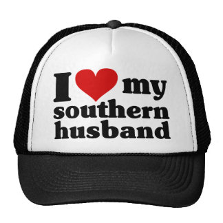 I corazón mi marido meridional gorros bordados