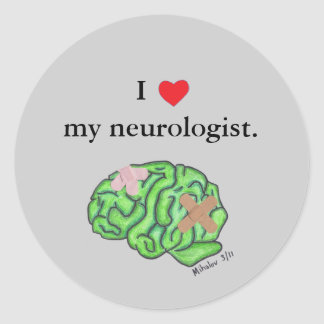 I corazón mi neurólogo etiqueta