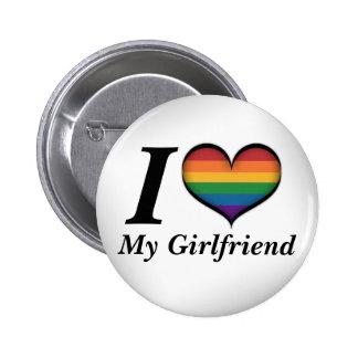 I corazón mi novia pin redondo de 2 pulgadas