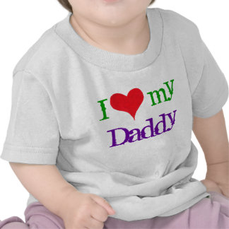 "I ""corazón"" mi papá - camiseta"