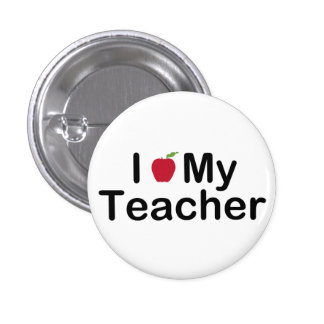 I corazón mi profesor pin