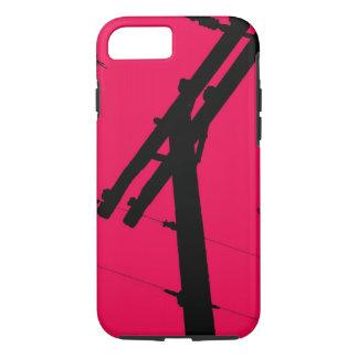 I (corazón) mi rosa funda-Caliente del iPhone 7 Funda iPhone 7