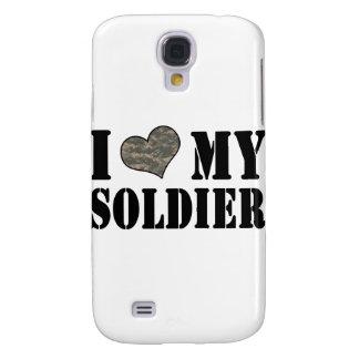 I corazón mi soldado funda para galaxy s4