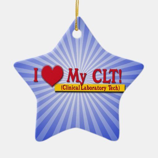 I corazón mi TECNOLOGÍA CLÍNICA del LABORATORIO de Ornamento Para Arbol De Navidad