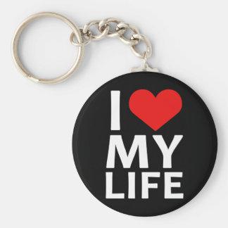 I corazón mi vida 2 llavero personalizado