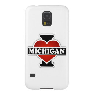 I corazón Michigan Carcasas De Galaxy S5
