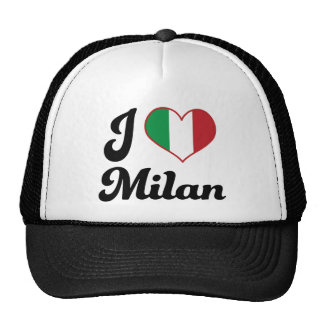 I corazón Milano Italia amor Gorras