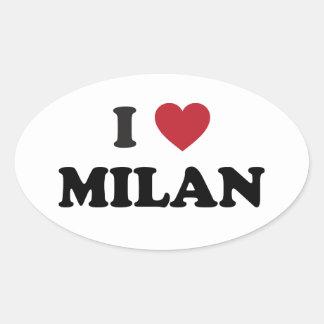 I corazón Milano Italia Etiqueta