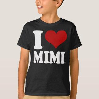 I corazón Mimi Playera