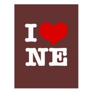 ¡I corazón Minneapolis de nordeste! Tarjetas Postales
