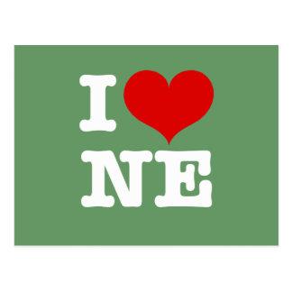 ¡I corazón Minneapolis de nordeste! Postales