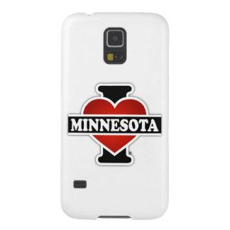 I corazón Minnesota Fundas De Galaxy S5