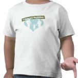 I corazón mis papás camisetas