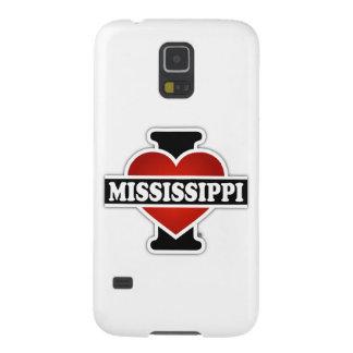 I corazón Mississippi Carcasa De Galaxy S5
