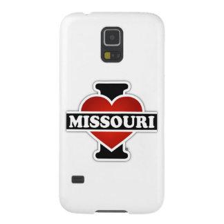 I corazón Missouri Funda De Galaxy S5