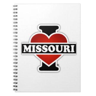I corazón Missouri Libros De Apuntes