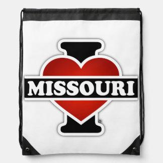 I corazón Missouri Mochila