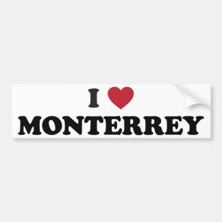 I corazón Monterrey México Pegatina Para Auto