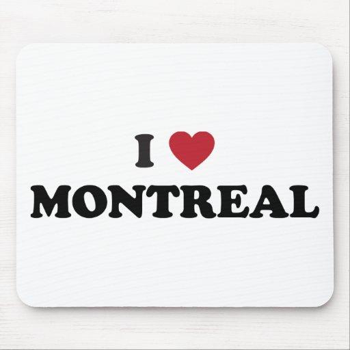 I corazón Montreal Canadá Tapete De Raton