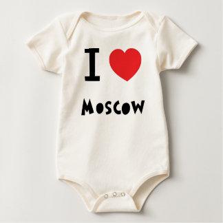 I corazón Moscú Body Para Bebé